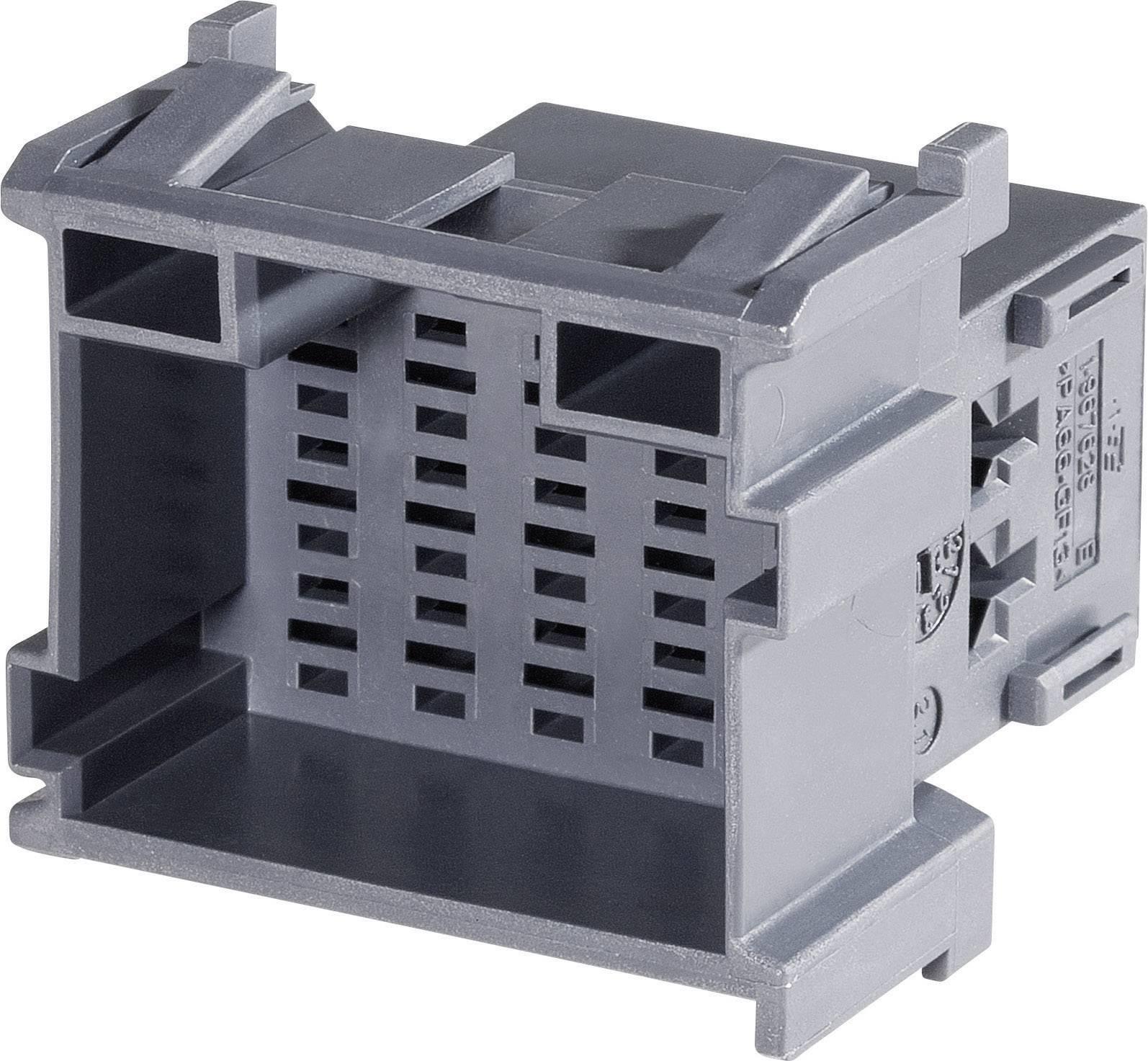 Zásuvkové púzdro na kábel TE Connectivity J-P-T 1-967628-6, 35.5 mm, pólů 15, rozteč 5 mm, 1 ks
