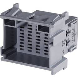 Zásuvkové púzdro na kábel TE Connectivity J-P-T 1-967629-1, 37.8 mm, pólů 18, rozteč 5 mm, 1 ks
