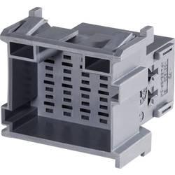 Zásuvkové púzdro na kábel TE Connectivity J-P-T 1-967630-3, 42.8 mm, pólů 21, rozteč 5 mm, 1 ks