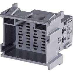 Zásuvkové púzdro na kábel TE Connectivity J-P-T 1-967630-4, 42.8 mm, pólů 21, rozteč 5 mm, 1 ks