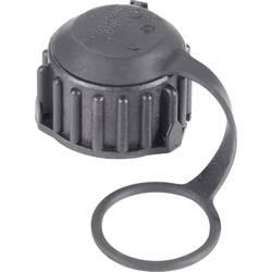 Predný kryt puzdra na kolíky DIN 72585 ochranná krytka pre guľatý faston TE Connectivity 1394277-1 IP69/IP69K, 1 ks