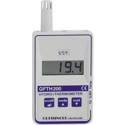 Vlhkomer vzduchu (hygrometer) Greisinger GFTH 200, 0 % r. 601007, kalibrácia podľa DAkkS