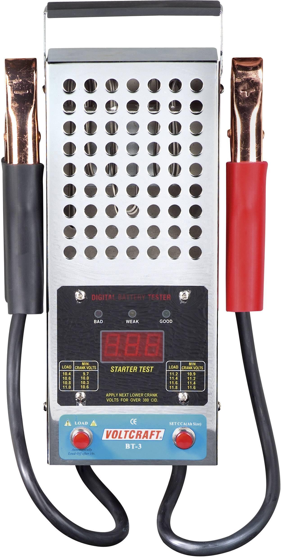 Tester autobatérií VOLTCRAFT BT-3