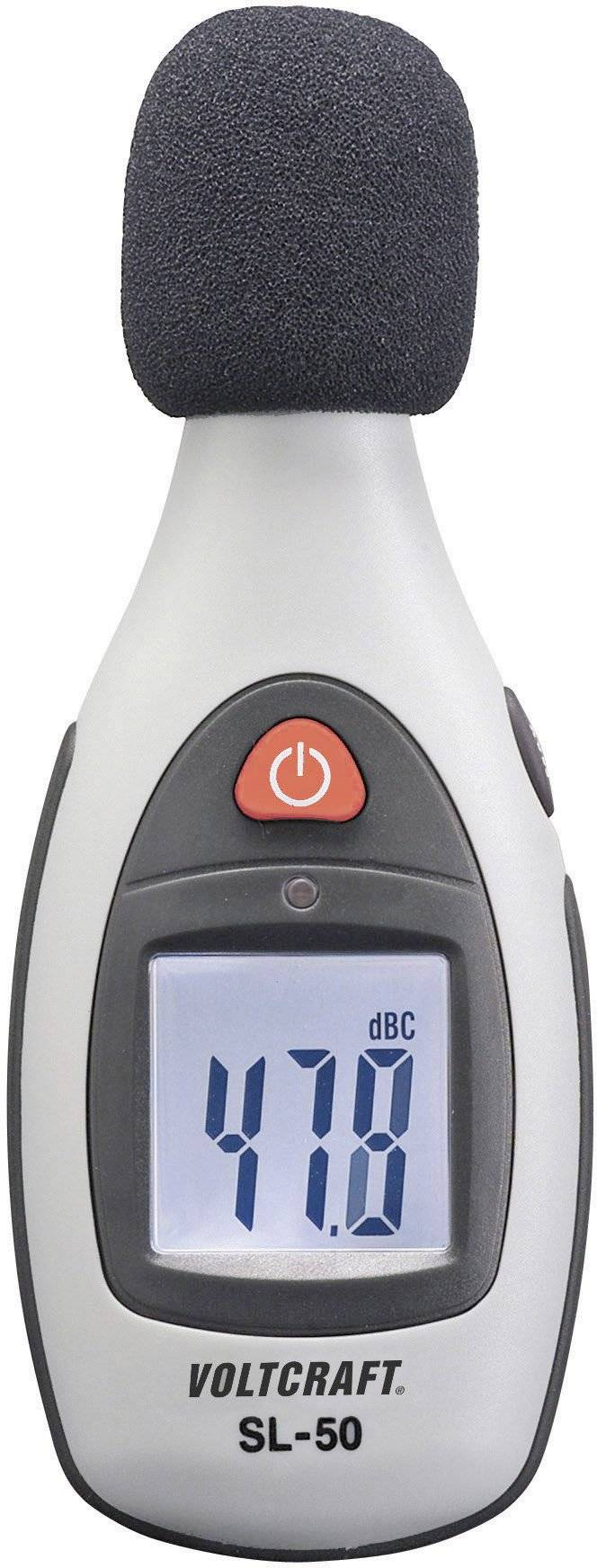 Digitální hlukoměr Voltcraft SL-50, 30 Hz - 4 kHz