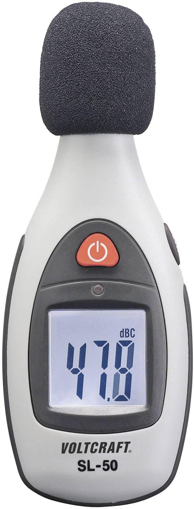 Digitálny hlukomer Voltcraft SL-50, 40 až 130 DBC