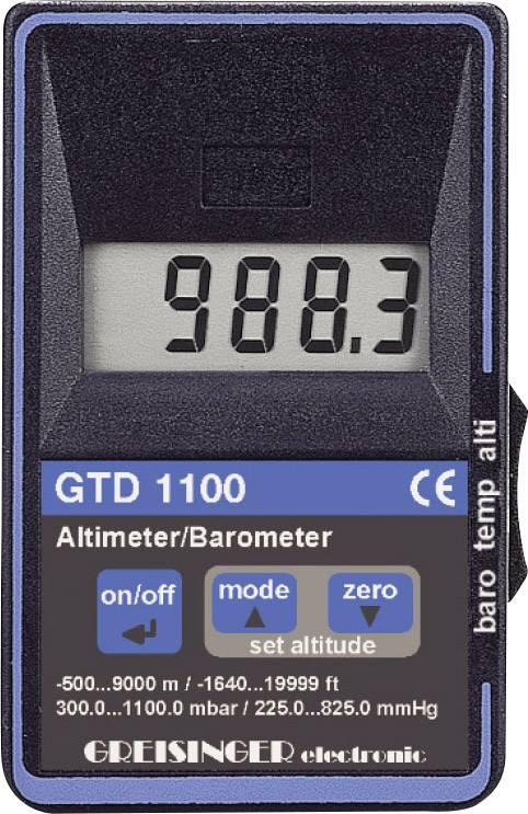 Barometer, výškomer a teplomer Greisinger GDT 1100