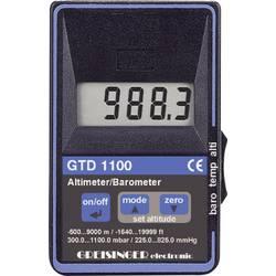 Barometr výškoměr a teploměr Greisinger GDT 1100, 110600, kalibrováno dle ISO