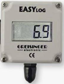 Ústředna s normovaným signálem Greisinger EASYLog 40NS K, 0 - 20 mA