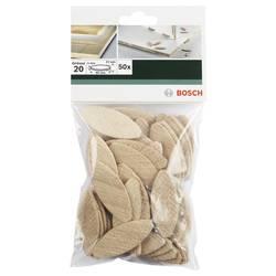 Plochá hmoždinka Bosch Accessories 2609256602, Vnější délka 60 mm, Vnější Ø 4 mm, 50 ks