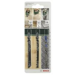 Sada 3 ks Stichsageblatt-Set T dříkem Bosch Accessories 2609256741 3 ks