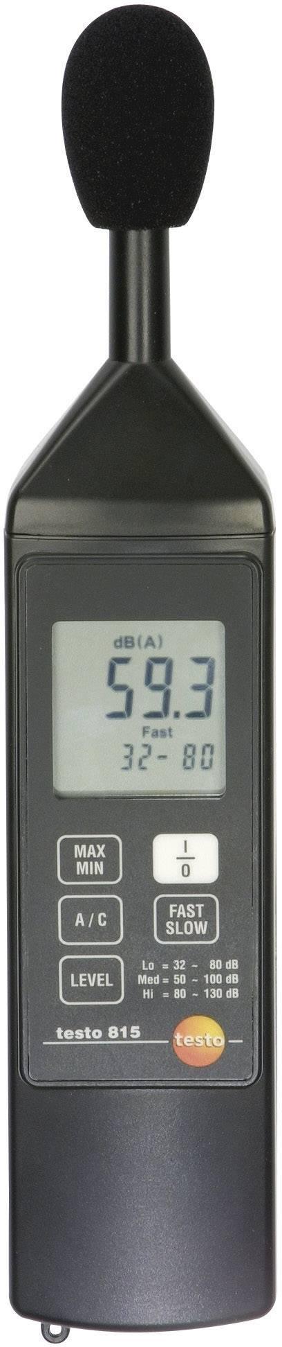 Hlukomer testo 815