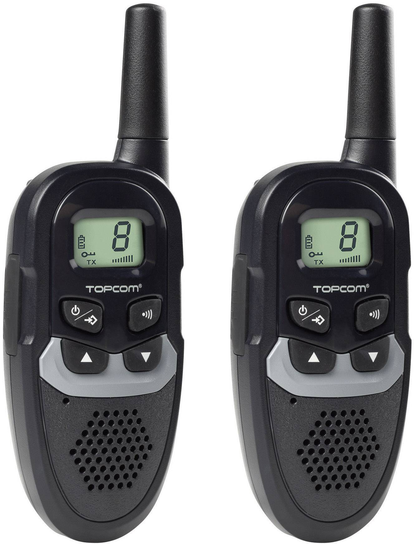 PMR rádiostanica Topcom RC-6410, sada 2 ks
