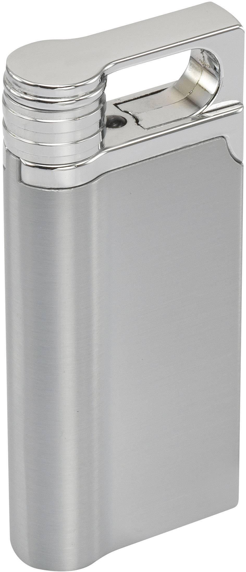 Akumulátorový USB zapalovač, stříbrná