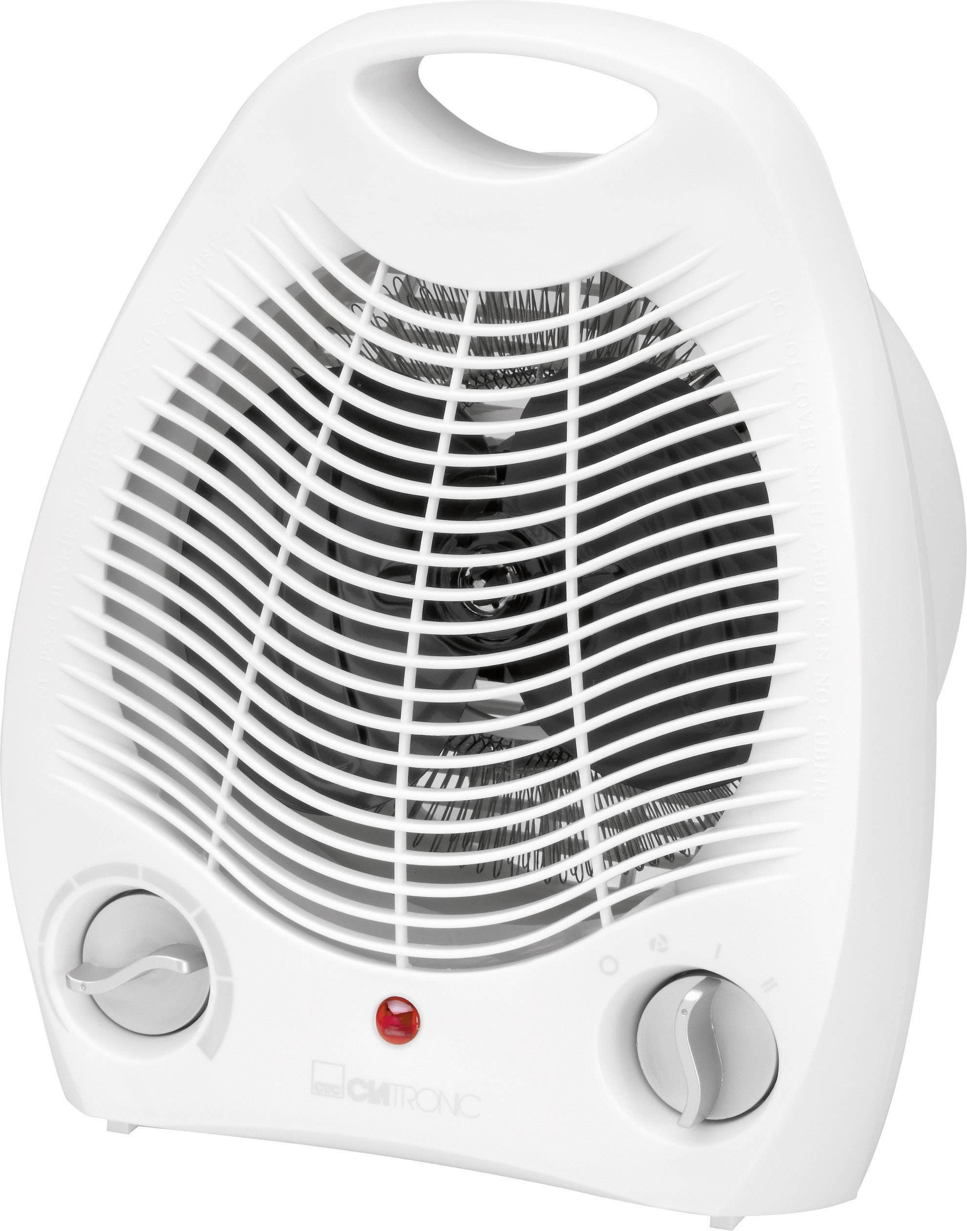 Vykurovací ventilátor Clatronic HL 3378 HL 3378, 16 m², 1000 W, 2000 W, biela