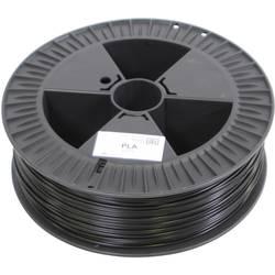 Vlákno pre 3Dtlačiarne, German RepRap 100294, PLA plast , 3 mm, 2.1 kg, čierna