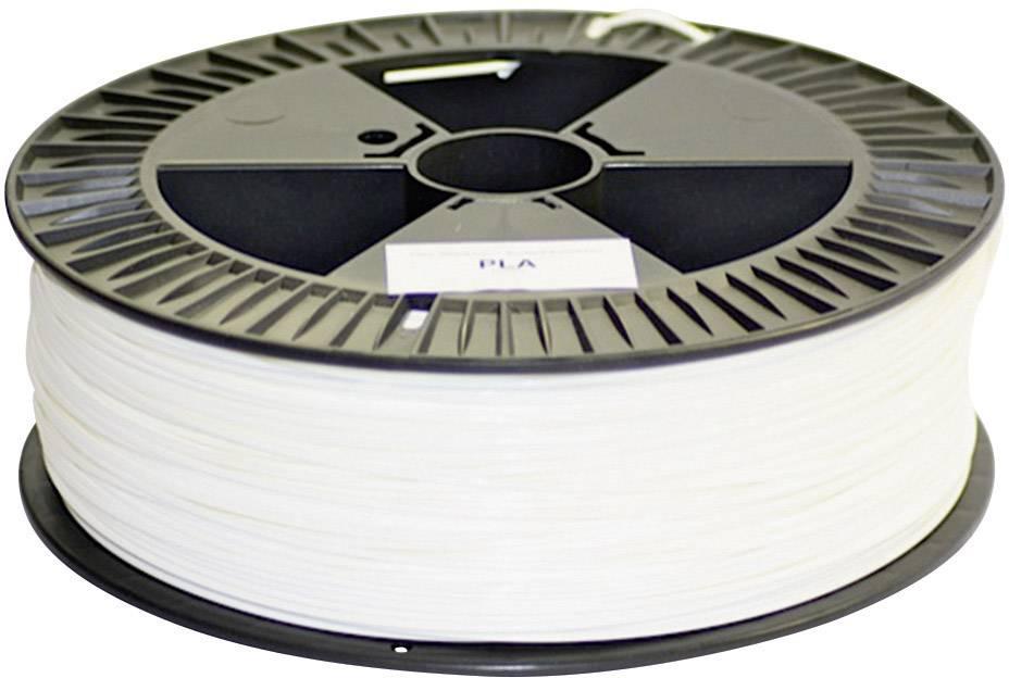 Vlákno pre 3Dtlačiarne, German RepRap 100274, PLA plast , 3 mm, 2.1 kg, biela