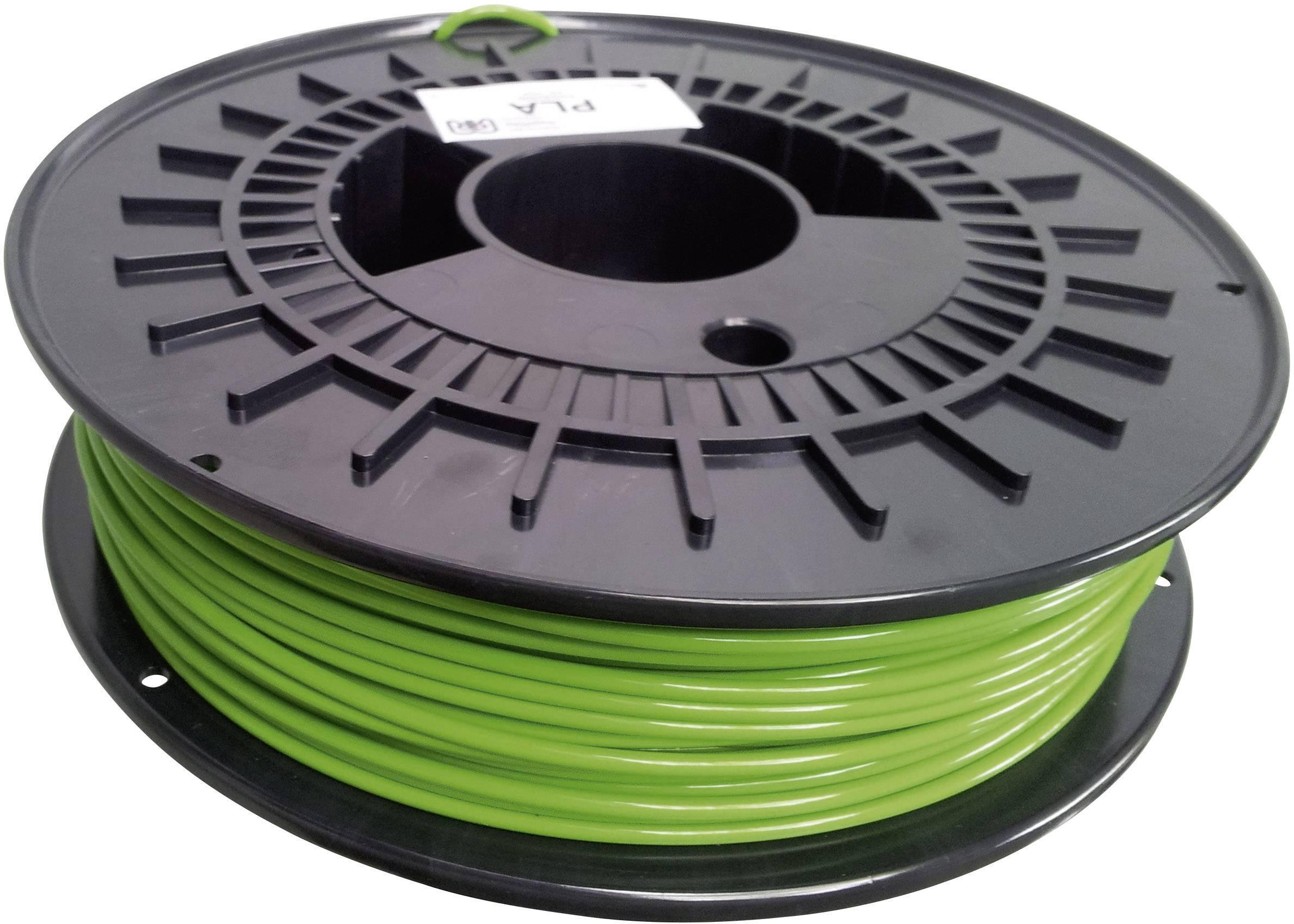 Vlákno pre 3Dtlačiarne, German RepRap 100007, PLA plast , 3 mm, 750 g, žltozelená