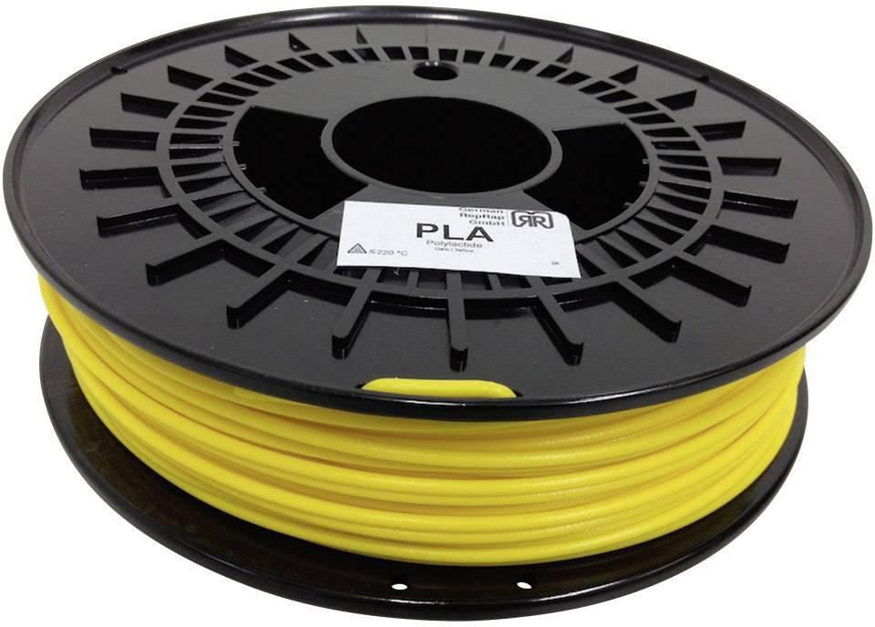 Náplň pro 3D tiskárnu, German RepRap 100250, PLA, 3 mm, 750 g, žlutá