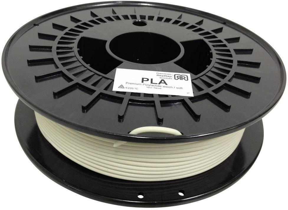 Vlákno pre 3Dtlačiarne, German RepRap 100260, PLA plast , 3 mm, 750 g, prírodná biela