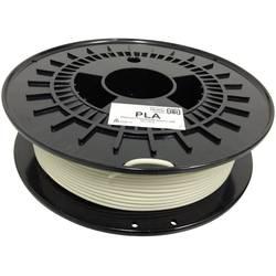 Vlákno pre 3D tlačiarne, German RepRap 100260, PLA plast , 3 mm, 750 g, prírodná biela