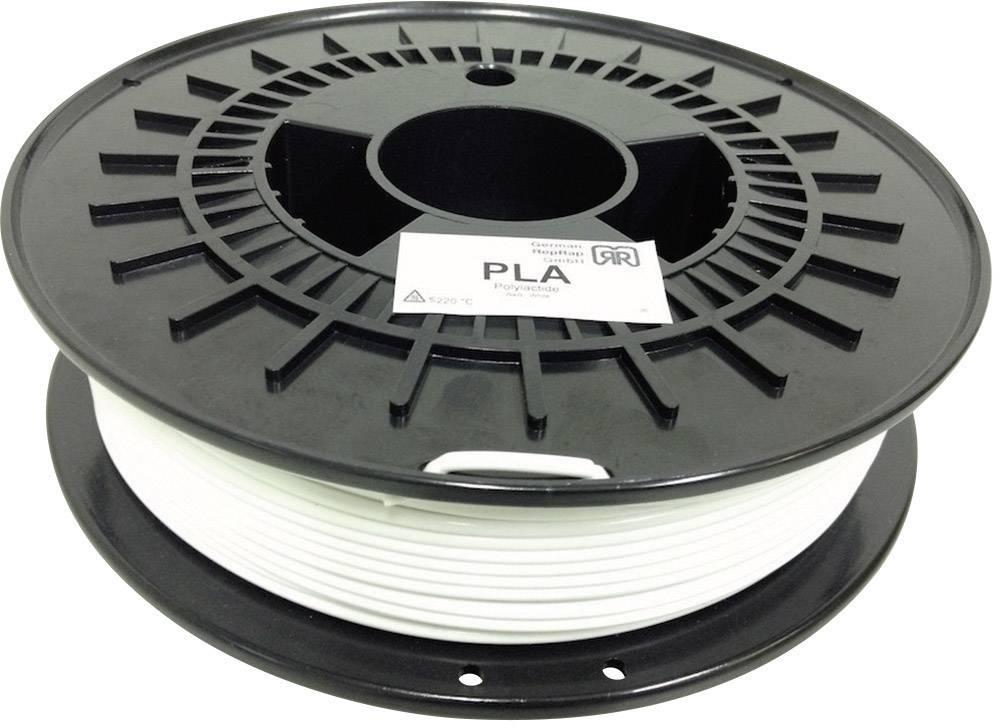 Vlákno pre 3Dtlačiarne, German RepRap 100249, PLA plast , 3 mm, 750 g, biela