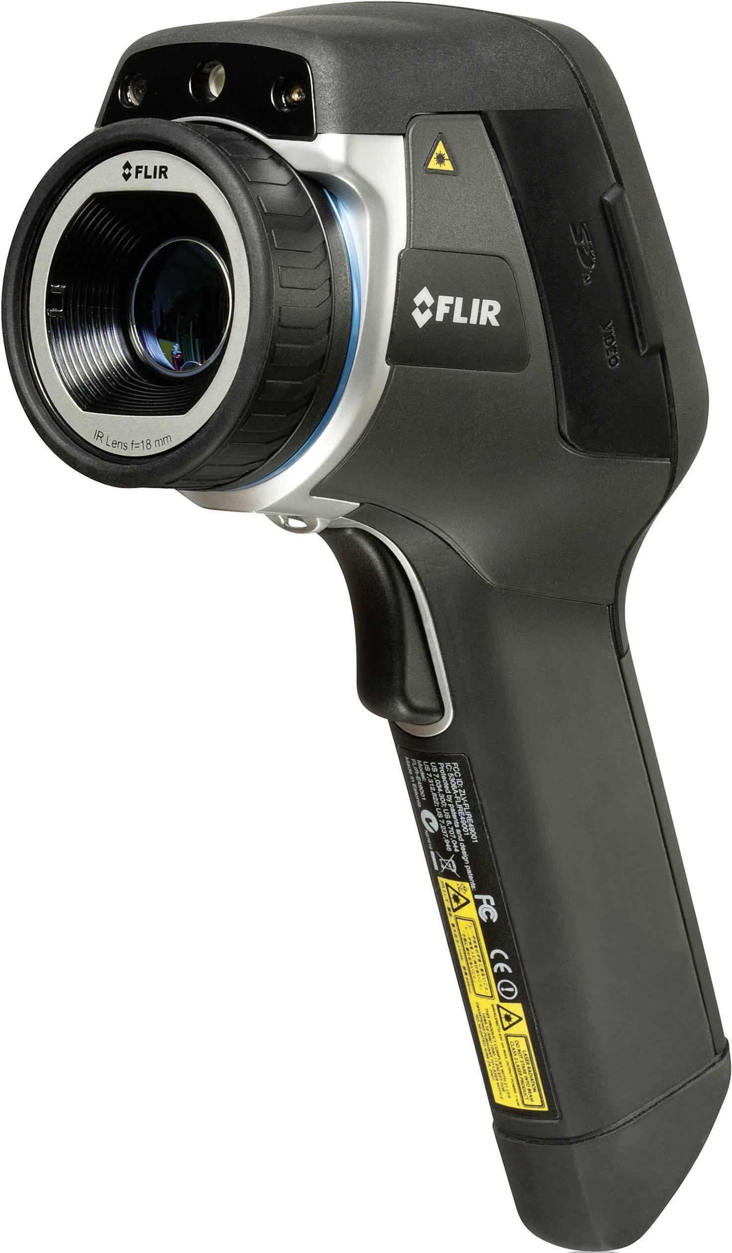 Termokamera Flir E60 EDU, 0 až 650 °C, 320 x 240 px, Wi-Fi, funkce MSX