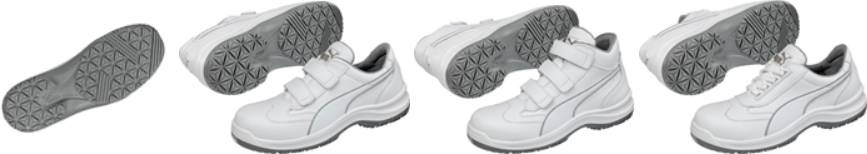 Bezpečnostní obuv S2 PUMA Safety Clarity Low 640622, vel.: 39, bílá, 1 pár