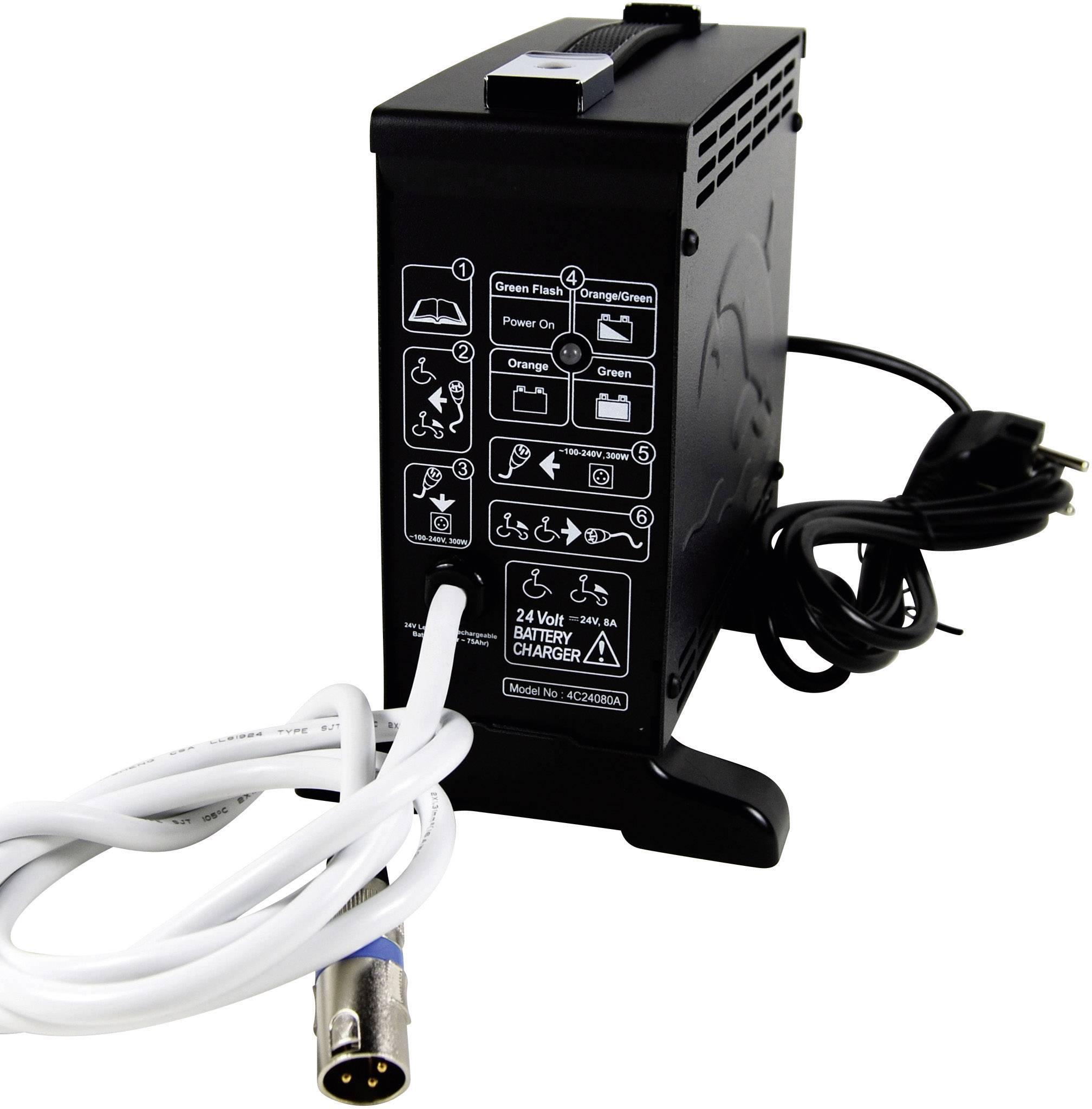 Nabíjačka olovených akumulátorov CTE 4C24080A CTE4C24080A