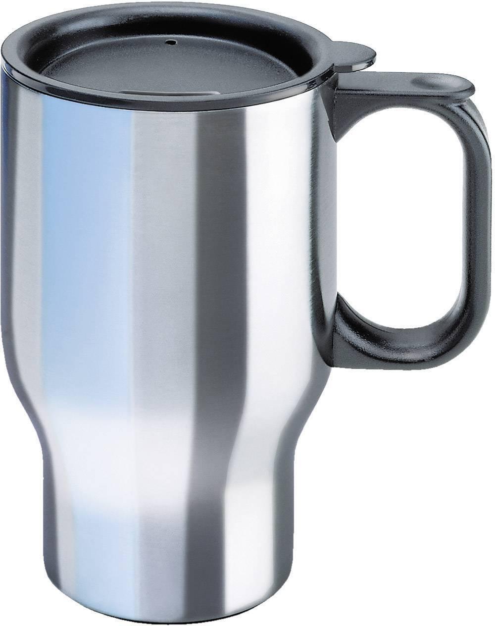 Thermo hrnček Isosteel Autobecher 400 ml, nerezová oceľ lesklá, 400 ml, VA-9558