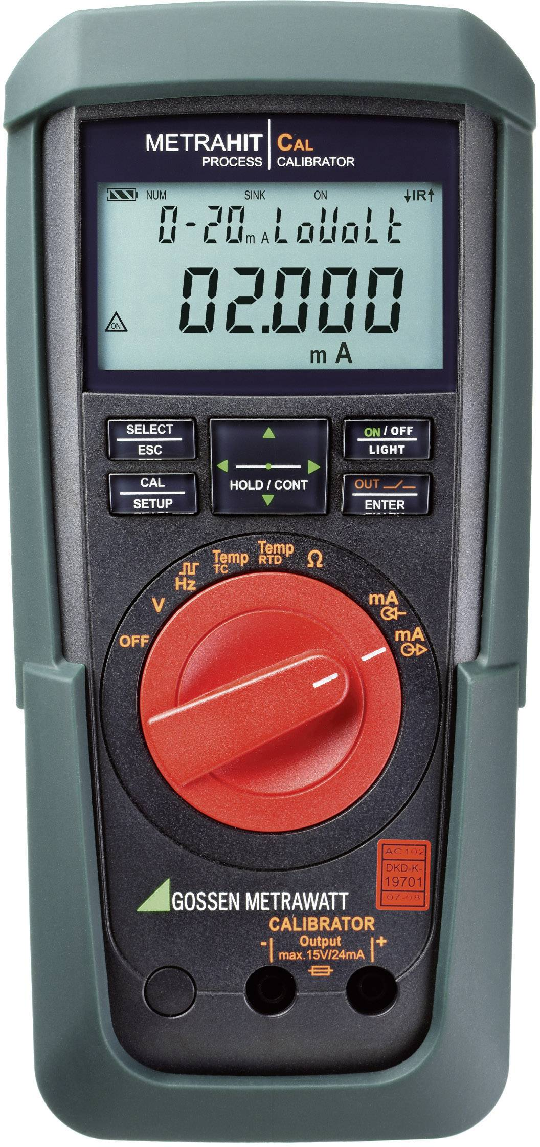 Kalibrátor Gossen Metrawatt METRAHIT CAL, M244A