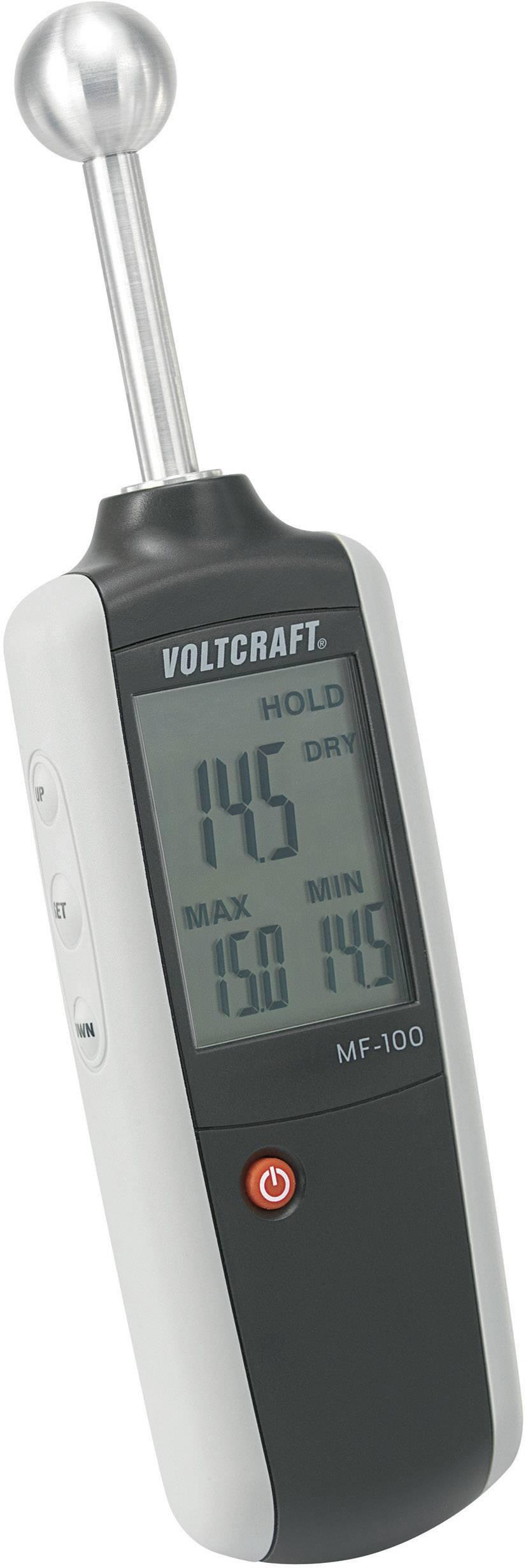 Měřič vlhkosti dřeva a stavebních materiálů Voltcraft MF-100