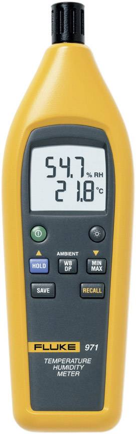 Teploměr a vlhkoměr vzduchu (hygrometr) Fluke 971, kalibrováno dle podnikový standard (bez certifikátu) (own)