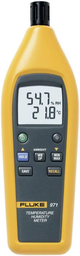 Teploměr a vlhkoměr vzduchu (hygrometr) Fluke 971, kalibrováno dle podnikových standardů (bez certifikátu)