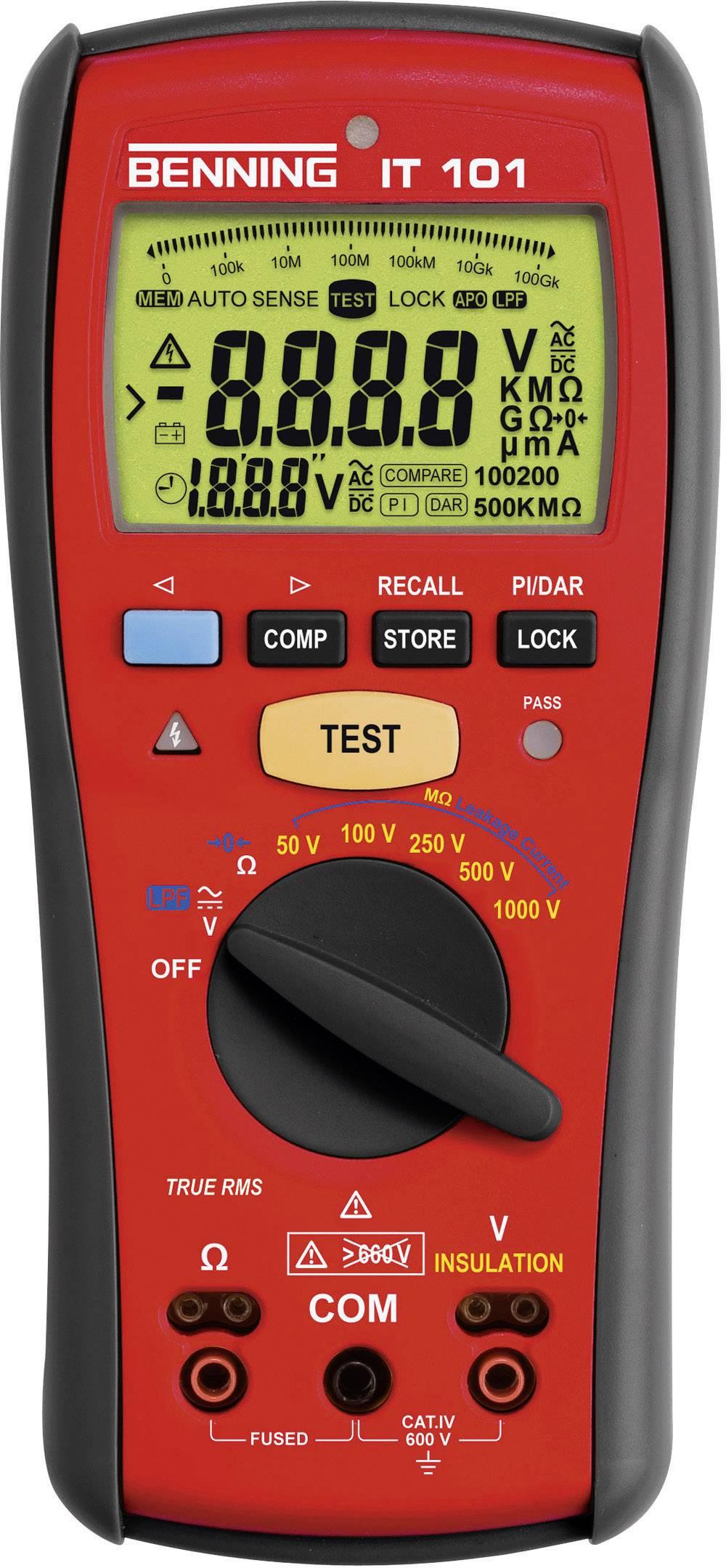 Tester izolace Benning IT 101, 044033