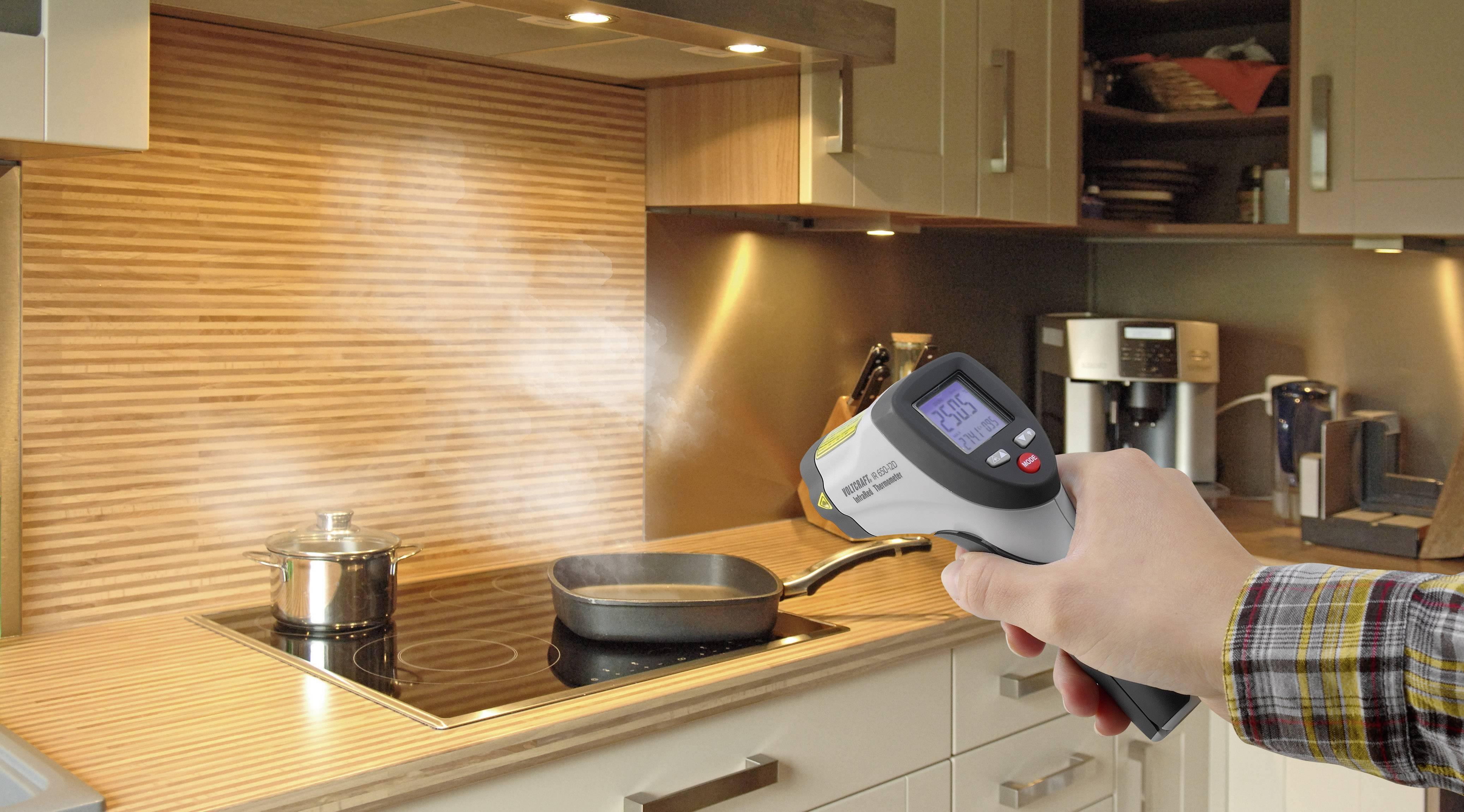 IR teplomer Voltcraft IR-500-8S, -50 až +500 °C