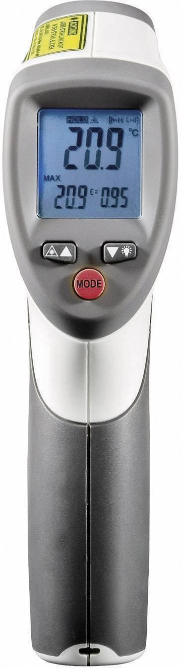 IR teploměr Voltcraft IR-650-12D, -50 až +650 °C