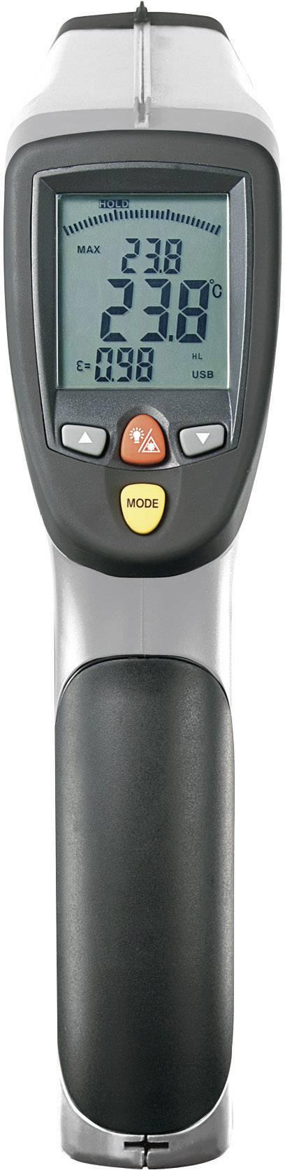 IR teplomer Voltcraft IR-2200-50D USB, -50 až +2200 °C
