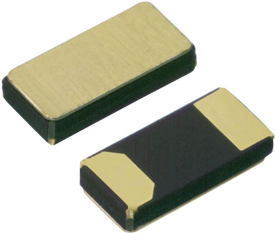 SMD hodinový krystal MicroCrystal, 32.768 kHz, 12.5pF ±20ppm, CM7V-T1A