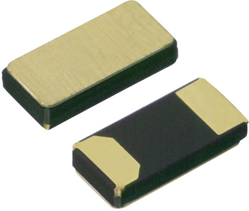 SMD hodinový krystal MicroCrystal, 32,768 kHz, 9pF ±20ppm, CM7V-T1A