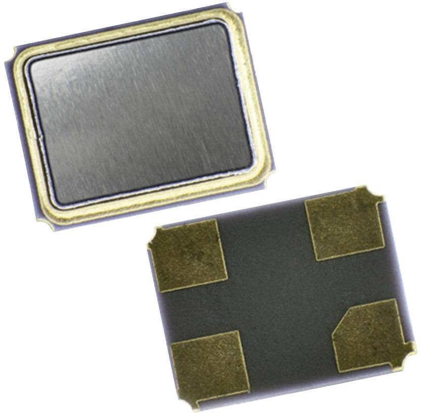 SMD krystal EuroQuartz, MT/30/30/-40+85/12pF, 25,000MHz