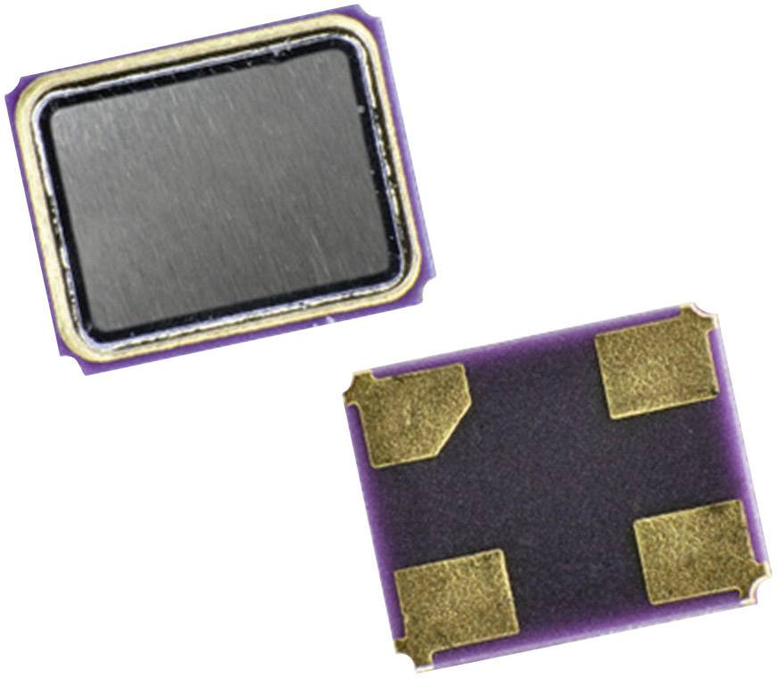 SMD krystal EuroQuartz, X21/30/30/-40+85/12 pF, 16,000 MHz