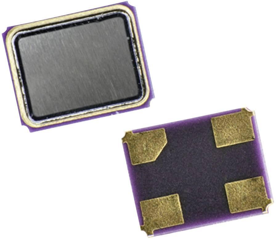 SMD krystal EuroQuartz, X21/30/30/-40+85/12pF, 25,000 MHz