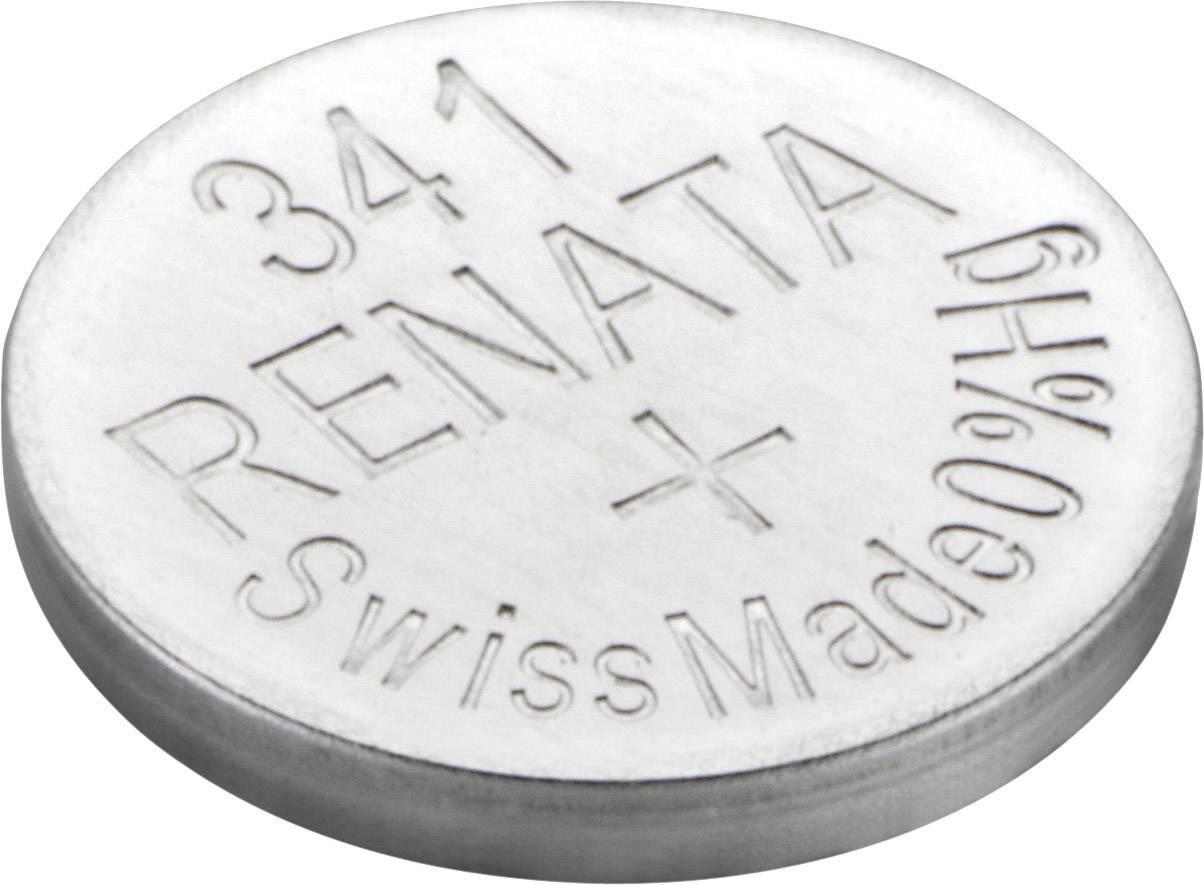 Gombíková batéria 341 Renata, SR714, na báze oxidu striebra
