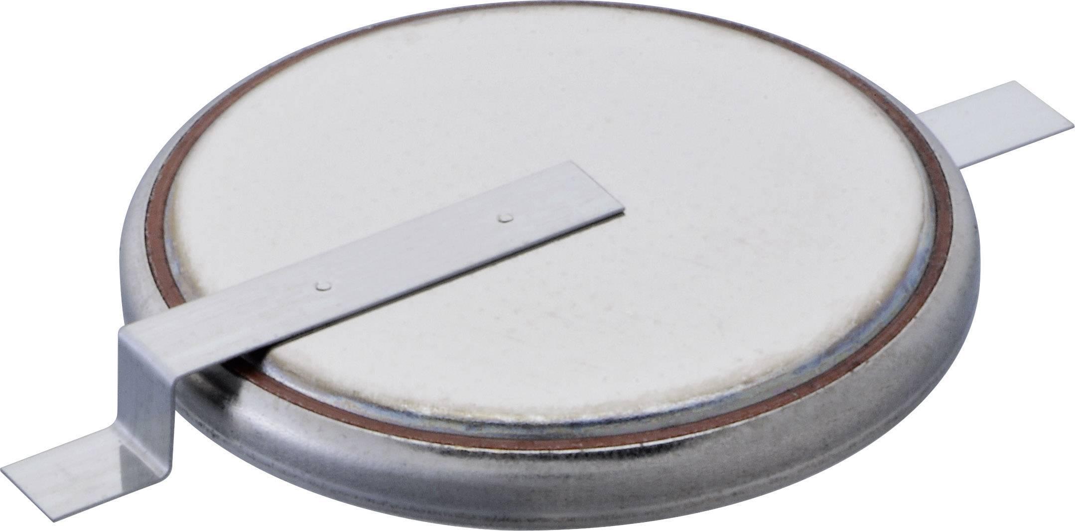 Gombíková batéria Renata CR2430 SM, so spájkovacími kontaktami