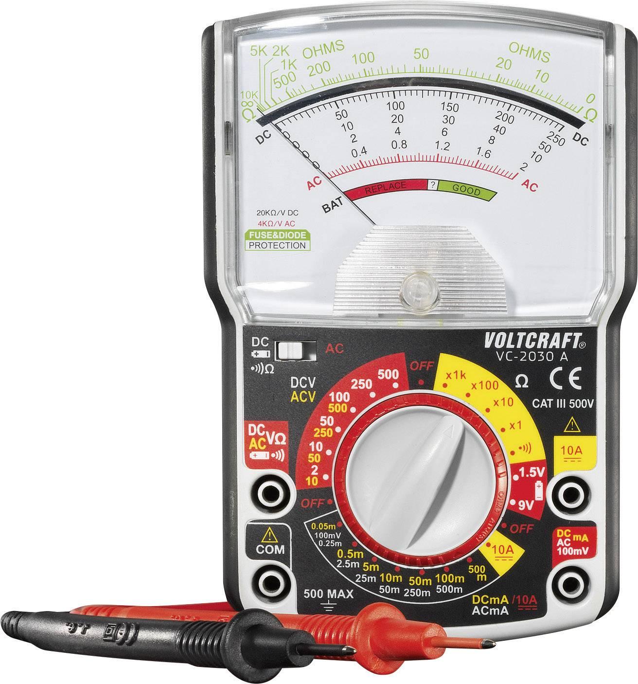 Analógový ručný multimeter VOLTCRAFT VC-2030A