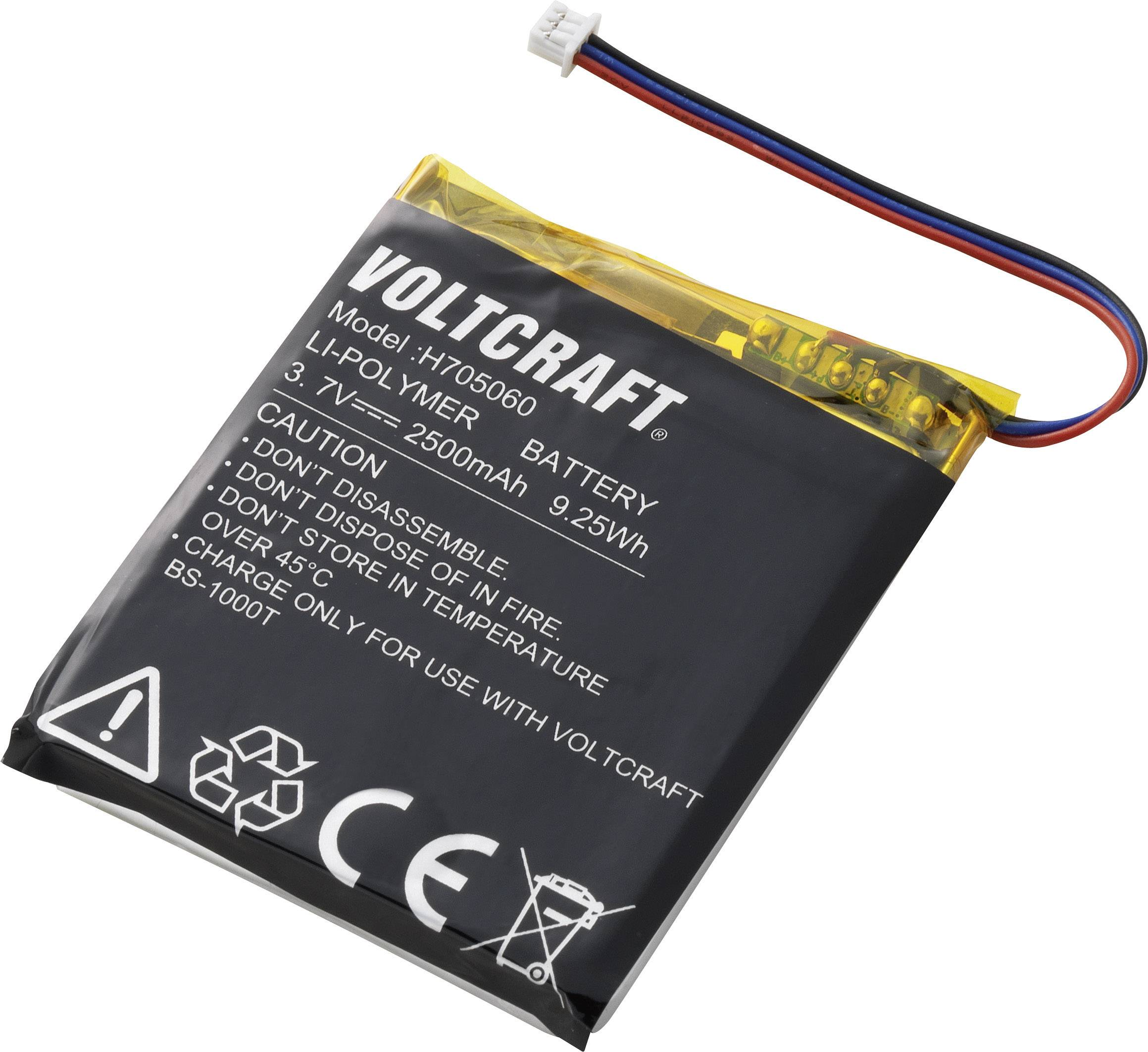 Náhradní akumulátor Voltcraft BS-BAT pro endoskop BS-1000T