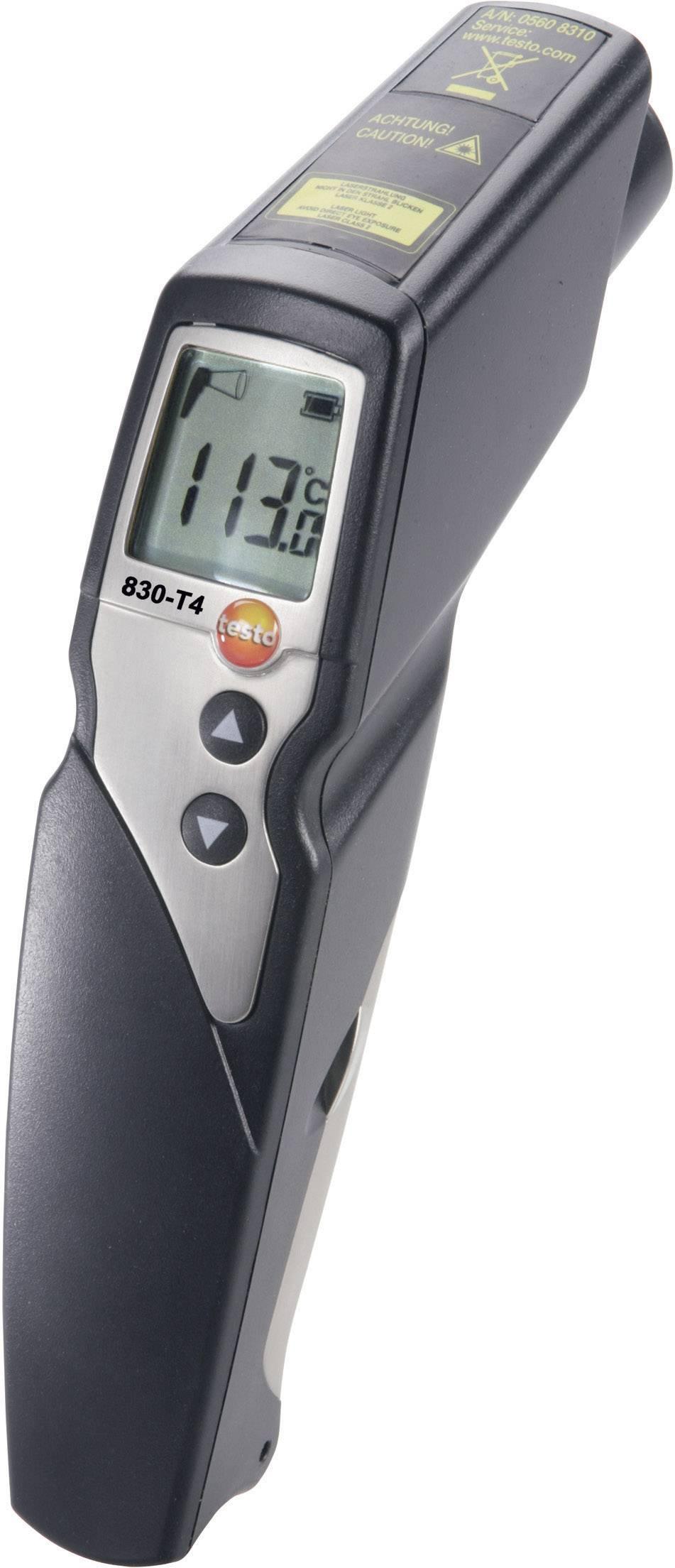 IR teplomer testo 830-T4, -30 až +400 °C