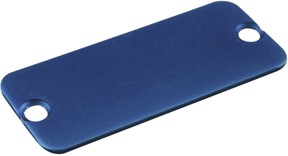 Púzdro Hammond Electronics 1455DALBU-10, hliník, modrá, 1 ks