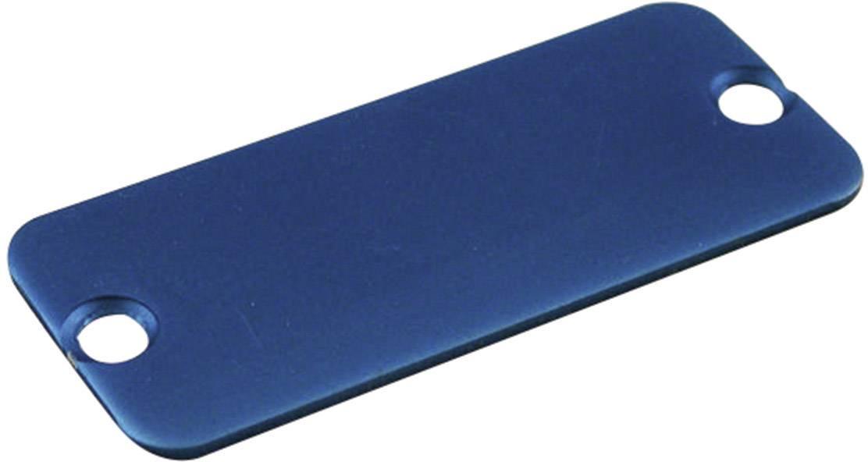 Púzdro Hammond Electronics 1455JALBU-10, hliník, modrá, 1 ks