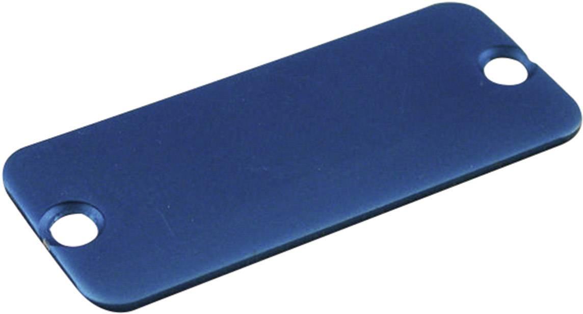 Púzdro Hammond Electronics 1455NALBU-10, hliník, modrá, 1 ks